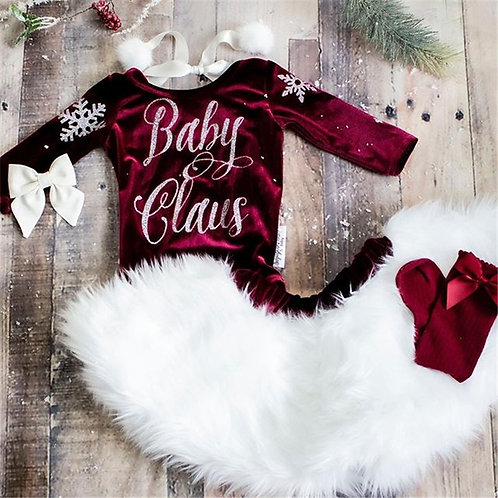 3pc Baby Claus Set