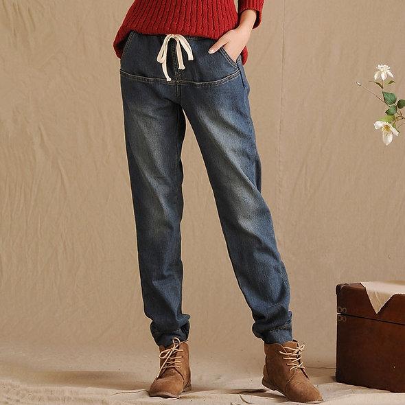 Winter Fleece Lined Jeans