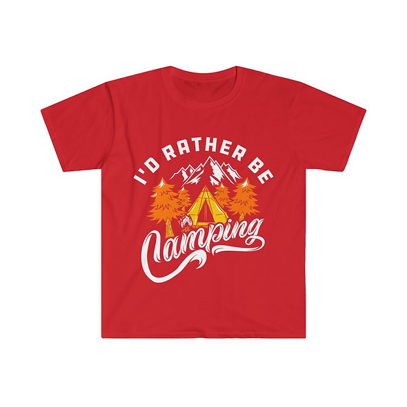 I'd Rather Camp Softstyle Tee