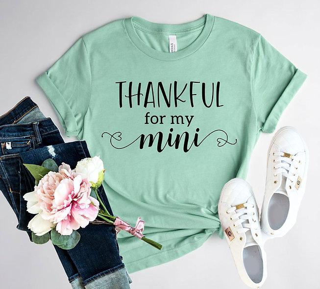 Thankful For Mini Tee