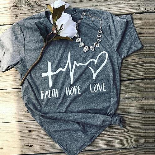 Faith Hope Love Tee