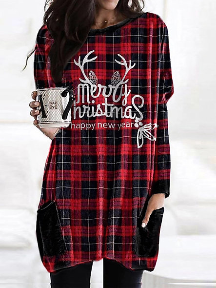 Christmas Sweater Dress