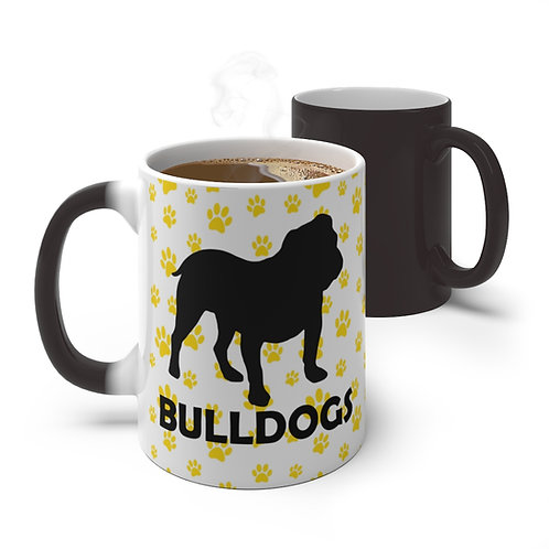 Bulldog Color Changing Mug