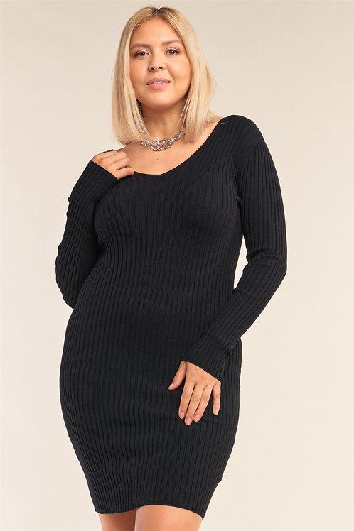 Sweater Bodycon Mini Dress