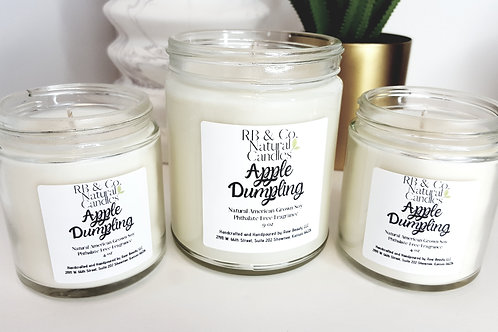 Apple Dumpling Soy Candle