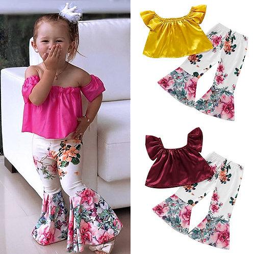 summer baby girls clothing 2Pcs set