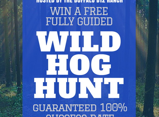 Circle S Kennels Hog Hunt Give Away