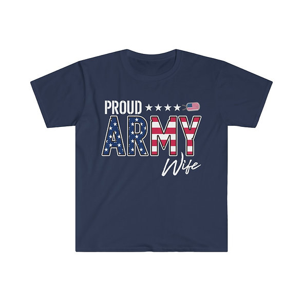 Army Wife Softstyle Tee
