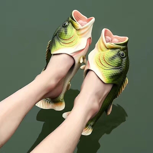 Funny Fish Slippers