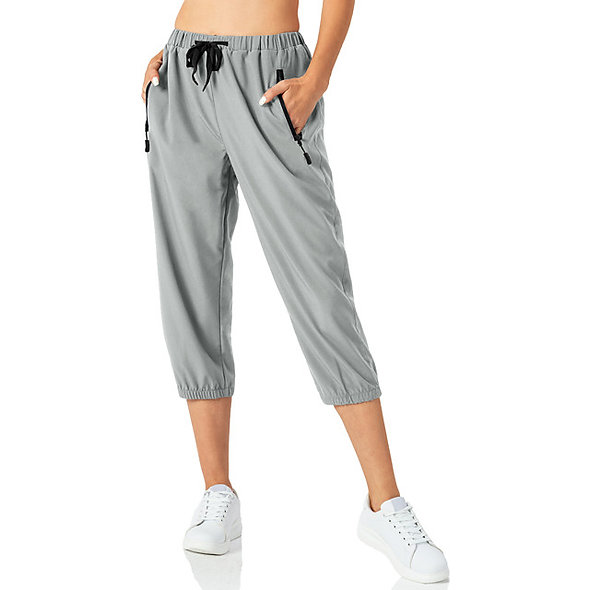 Casual Sporty Mid-Calf Bottoms