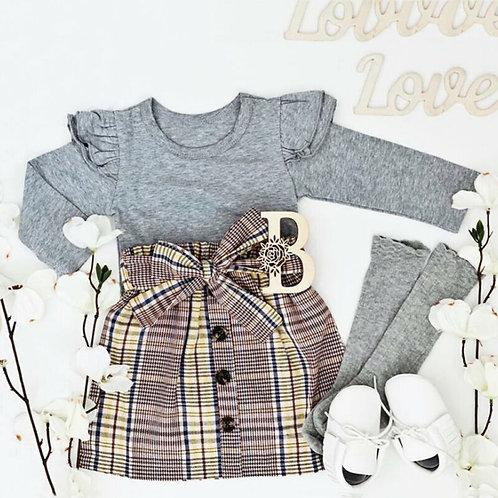 2pc Toddler Skirt Set