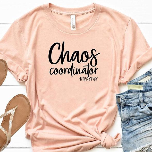 Teacher Chaos Tee