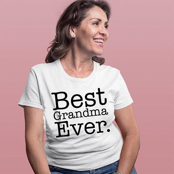 Best Grandma Ever Tee