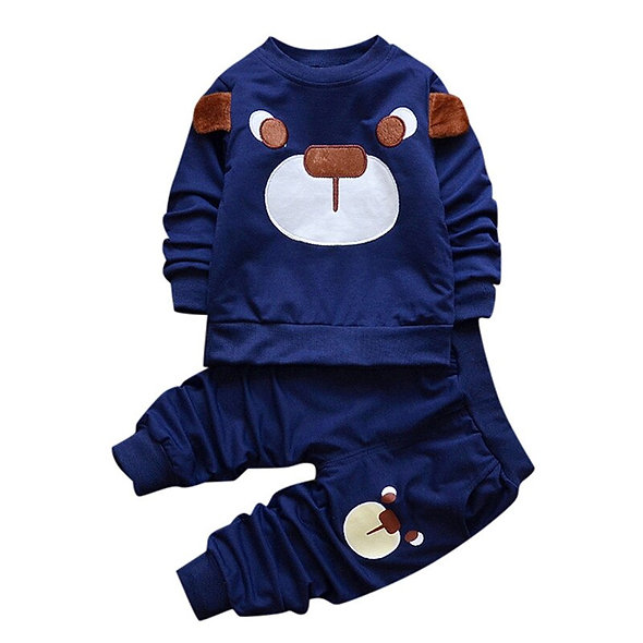 2pcs Infant Toddler Baby Girls Boys Clothes Set