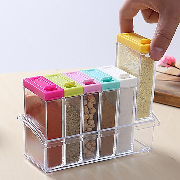 Spice Jar Box