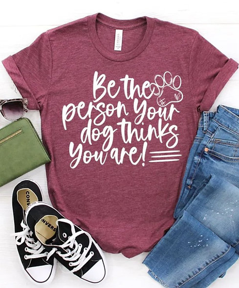 NEW Be the person your dot thinks you are Graphic Tee