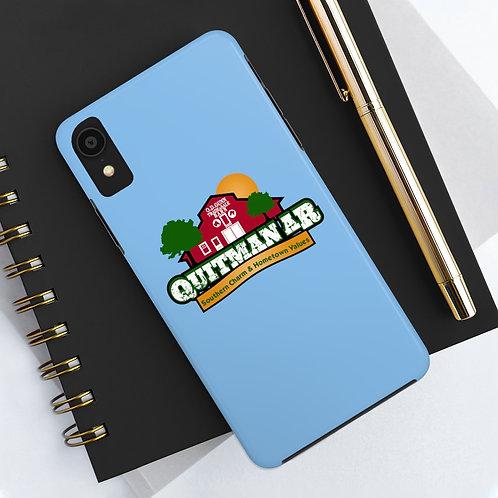Quitman AR Blue Phone Case