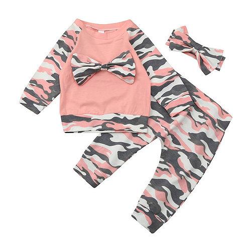 New 3pcs Newborn Toddler Baby Girls Boys
