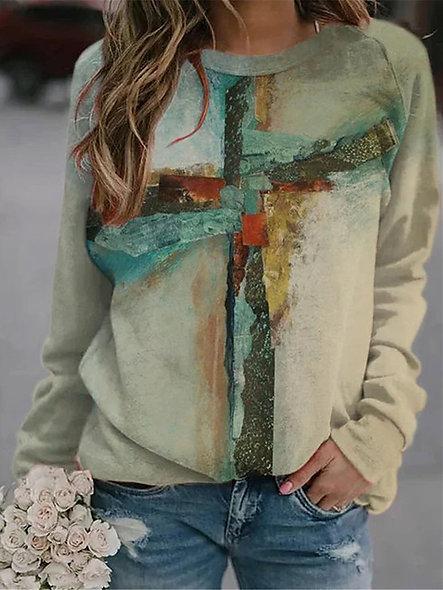 Tie Dye Oversized Pullover