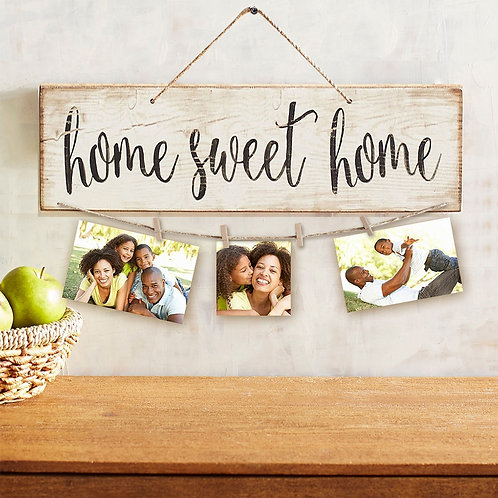 Sweet Home Wooden Wall Hanging