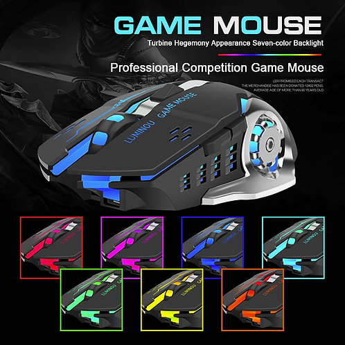 Hot  Rechargeable 2.4Ghz Wireless Game Mouse