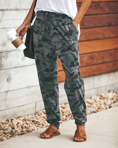 Casual Camouflage Long Pant