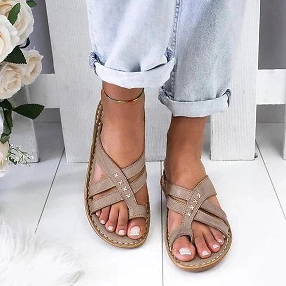 Boho Wedge Sandals