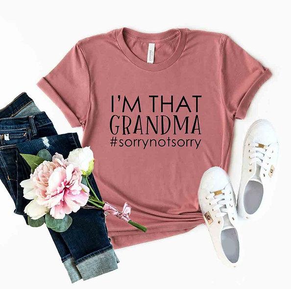 I'm That Grandma Tee