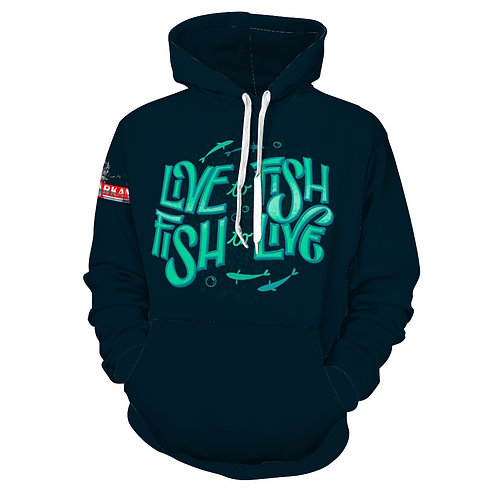 ABTT Live to Fish Hoodie