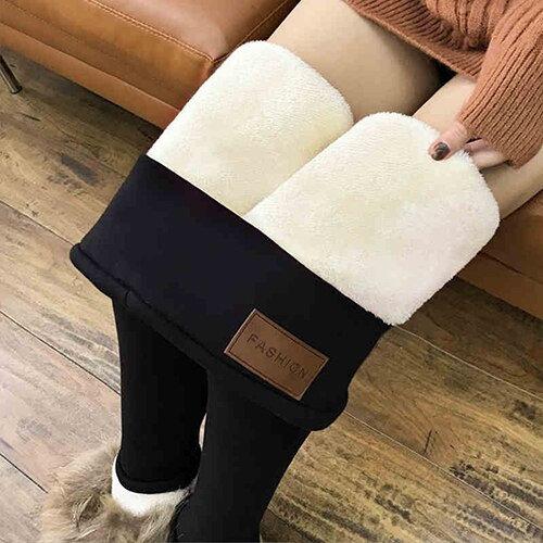 High Waist Fleece Leggings