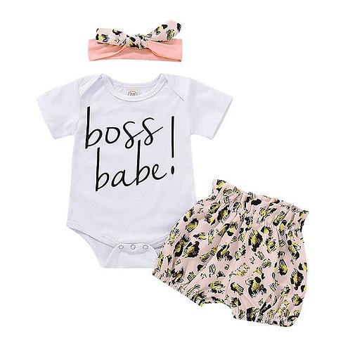 Summer Baby Toddler Girls Letter Printed