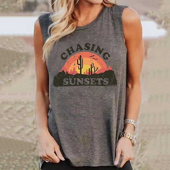 Chasing Sunsets Tank