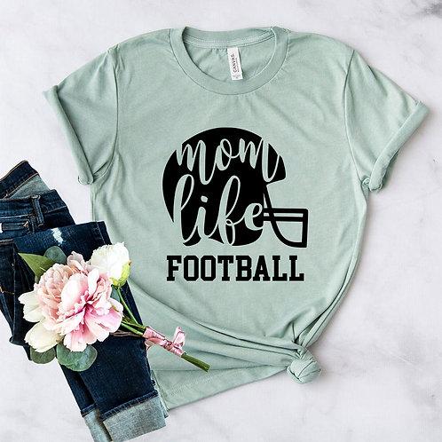 Mom Life Football Shirt