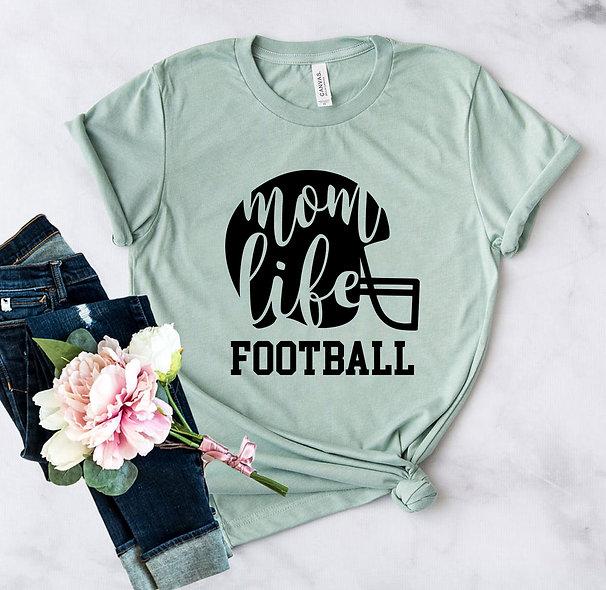 Mom Football Tee