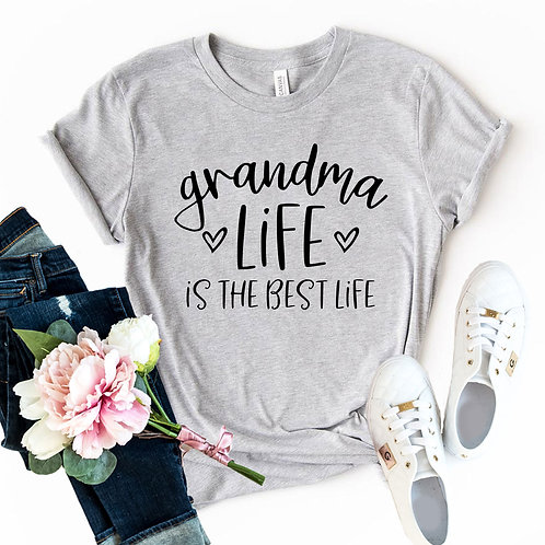 Grandma Life Is The Best Life Shirt