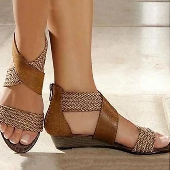 Beach Wedge Sandals