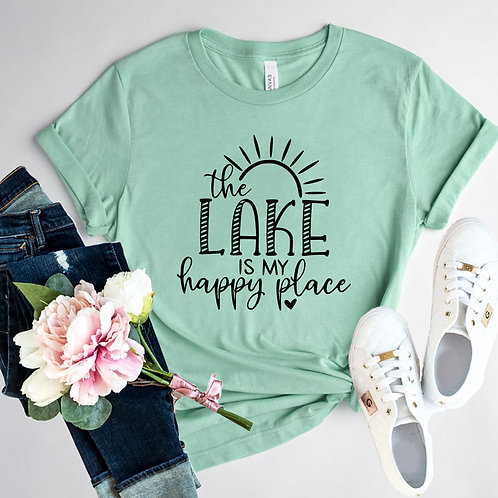 The Lake Is My Happy Place Shirt