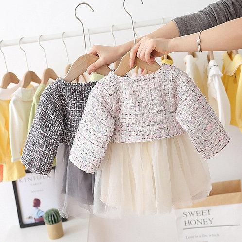 2pc Infant Dress Set