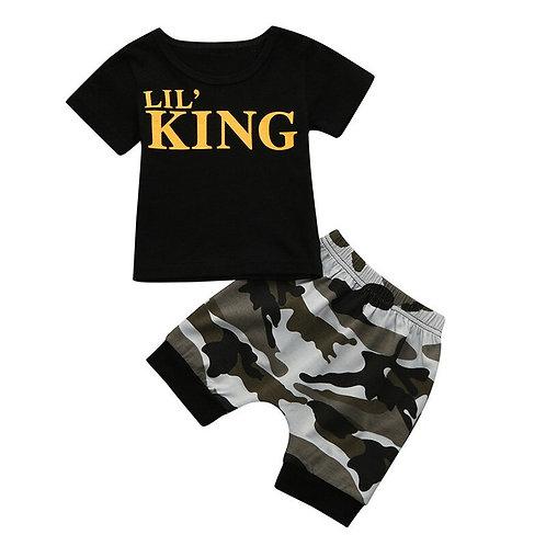 Lil' King Baby Boys Set