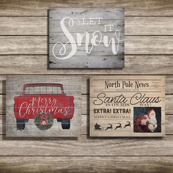 Vintage Christmas  Posters