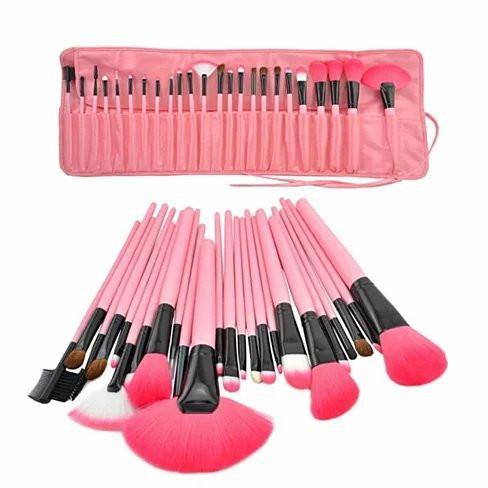 24 Pc Makeup Brush set