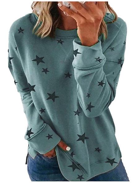 Graphic Star Sweatshirt