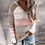 Thumbnail: Hooded Autumn Patchwork Sweater