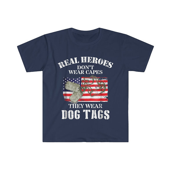 Real Heros Softstyle Tee