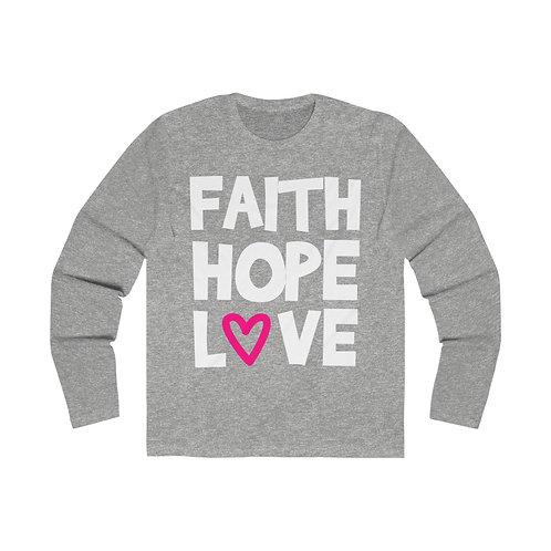 Copy of Faith Hope Love Tee