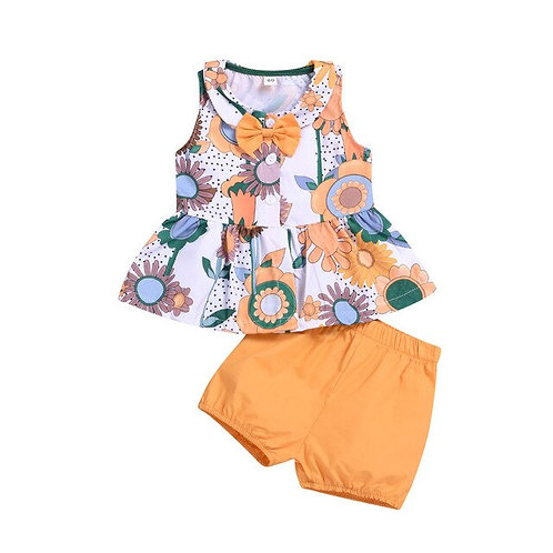 Summer Clothes for Kid Bady Girl Strap