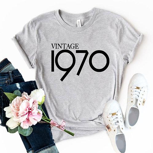 Vintage 1970 Shirt