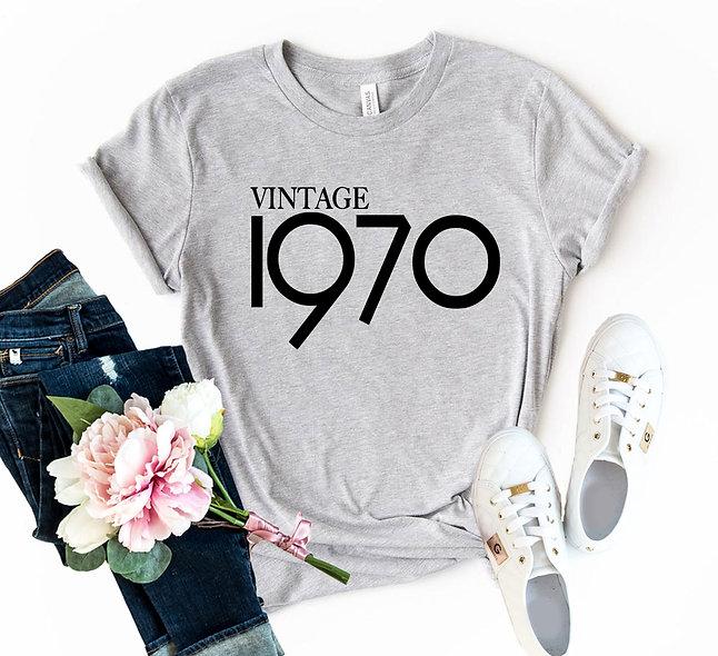 Vintage 1970 Tee