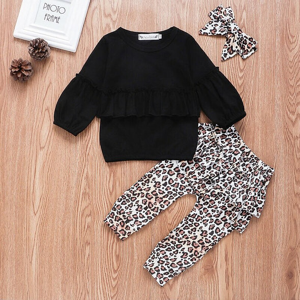 3pc Toddler LeopardSet