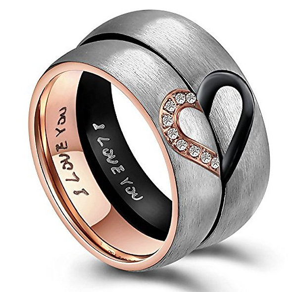 Couples Love Ring Set